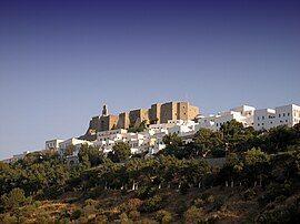 帕特莫斯岛上的城堡