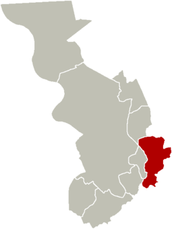 District of Deurne within the city of Antwerp