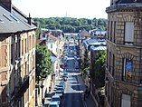 Pontoise - rue thiers et gare vue depuis la cathdrale.jpg