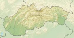 科希策在斯洛伐克的位置