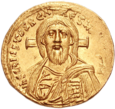 Solidus depicting Christ Pantocrator, a common motif on Byzantine coins. of Byzantine Empire
