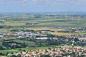 Wind turbines in Lower Normandy