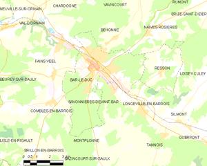 巴勒迪克城区地图