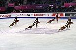 Team Surprise at the 2015 Grand Prix performing Movement in Isolation.