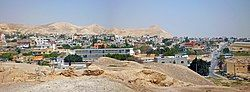 The city of Jericho from Tell es-Sultan