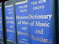 Second edition of the New Grove, shelved