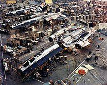 SR-71在洛克希德臭鼬工厂