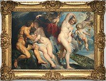 0 Ixion roi des Laphites trompé par Junon qu'il voulait séduire - Pierre Paul Rubens.JPG