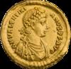 INC-2965-a Солид. Валентиниан II. Ок. 388—392 гг. (аверс).png