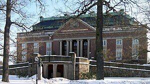 Main building of the Royal Swedish Academy of Sciences (Kungliga Vetenskapsakademien), Frescati, Norra Djurgården, Stockholm.jpg