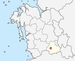 论山市位置图