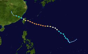 台风路径图
