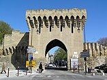 Avignon, Porte Saint Michel des remparts d'Avignon..JPG