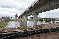 Fresno River Viaduct construction 2017.jpg