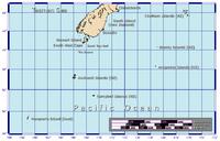 Location of 查塔姆群岛