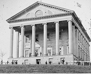 Virginia Capitol, where Confederate Congress met