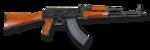 AKM automatkarbin Ryssland - 7,62x39mm - Armémuseum rightside noBG.png