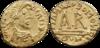 Tiers de sou de Théodebert II frappé à Clermont.png