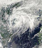 Tropical Depression 14W Oct 7 2010.jpg