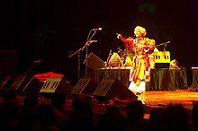 Paban Das Baul at Nine Lives concert, 2009.jpg