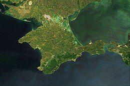 Satellite picture of Crimea, Terra-MODIS, 05-16-2015.jpg