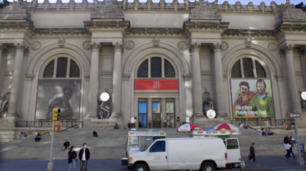 The museum as it appeared on its 151st anniversary, April 13, 2021