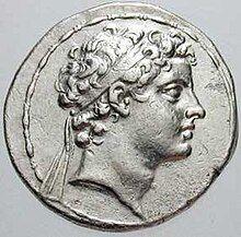 Antiochus V Eupator, coin, front side.jpg