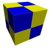 Bicolor cubic honeycomb.png