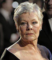 Judi Dench at the BAFTAs 2007.jpg