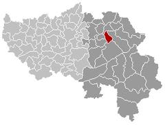 Limbourg Liège Belgium Map.png