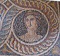 Palazzo dei gran maestri di rodi, sala delle muse, mosaico delle nove muse da kos 09 polimnia.JPG