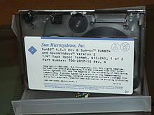 SunOS 4.1.1 P1270750 1/4-inch tape