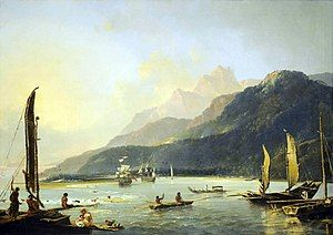Hodges, Resolution and Adventure in Matavai Bay.jpg