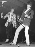 Mick Jagger (left) and Keith Richards