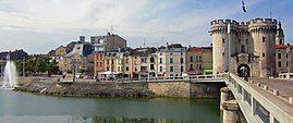Verdun and the Meuse river