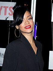 Barbadian singer Rihanna in 2012