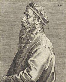 Wierix, Johannes (attributed to) - Portrait of Pieter Brueghel (I) - 1572 - RP-P-1907-593 cropped.jpg