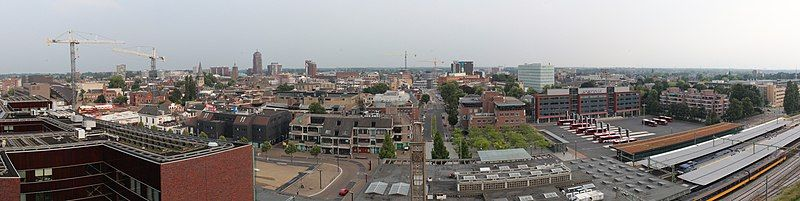 Enschede, Innercity, Bus&Railwaystation, Panorama.jpg