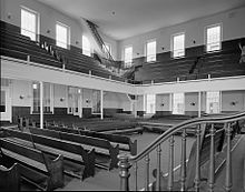 Race Street Friends Meeting House, Race Street west of Fifteenth Street, Philadelphia, Philadelphia County, PA HABS PA-6687-13.jpg