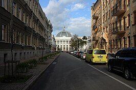 Parliament of Ukraine. Listed ID 80-382-0099.SW. - Mykhaila Hrushevskoho Street, Pechersk Raion, Kiev. - Pechersk 28 09 13 452.jpg