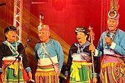 Dulan village elders performing at the 2016 Amis Music Festival