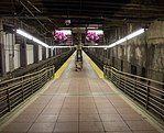 列车棚、月台及轨道