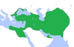 阿契美尼德王朝领土最大范围