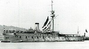 松岛号1896年