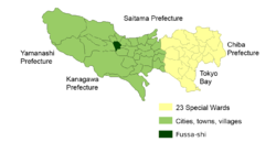 福生市位置图