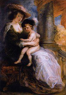 Peter Paul Rubens - Helena Fourment with her Son Francis - WGA20388.jpg