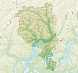 Bellinzona is located in Canton of Ticino