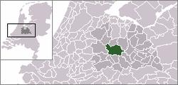 乌得勒支的位置