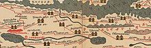 A detailed map of Palestine from the 5th century
