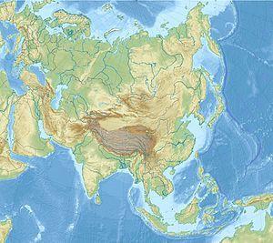 Nicosia is located in Asia